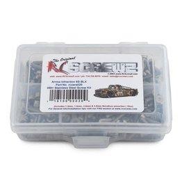 RC SCREWZ RCZARA020 ARRMA RC INFRACTION 6S BLX STAINLESS STEEL SCREW KIT