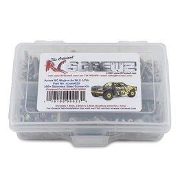 RC SCREWZ RCZARA023 ARRMA MOJAVE 6S BLX STAINLESS STEEL SCREW KIT