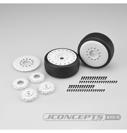 JCONCEPTS JCO311319 SPEED FANGS-PLATINUM COMPOUND/BELTED/MTD (WHITE)