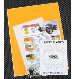 XXX MAIN RACING XXXM021L FATTY FLAMES PAINT MASK