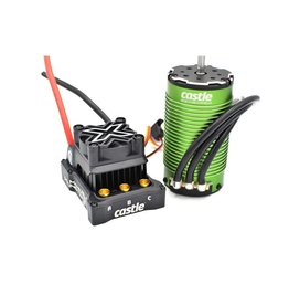 CASTLE CREATIONS CSE010016502 1/6 MAMBA MONSTER X 8S 1717 ESC AND 1650KV MOTOR