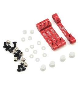 MST MXS-210576R RMX 2.0 S ALUMINUM SUSPENSION MOUNT SET (RED)