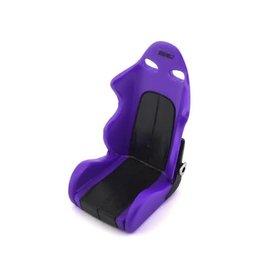SIDEWAYS RC SDW-BSEATV2-PU SCALE DRITFT BUCKET SEAT V2 (PURPLE)