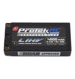 PROTEK RC PTK-5117-20 7.6V 2S 4600MAH 120C LIHV BATTERY