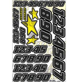 XXX MAIN RACING XXXN003 STAR NUMBER CARBON