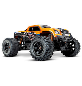 TRAXXAS TRA77086-4 ORNGX X-MAXX: BRUSHLESS ELECTRIC MONSTER TRUCK WITH TQI TRAXXAS LINK ENABLED 2.4GHZ RADIO SYSTEM & TRAXXAS STABILITY MANAGEMENT (TSM)