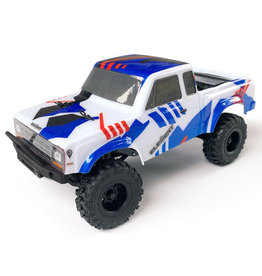 TEAM ASSOCIATED ASC20181 ELEMENT RC ENDURO24 SENDERO 1/24 4WD RTR SCALE MINI TRAIL TRUCK (RED/BLUE)