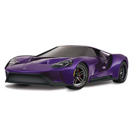TRAXXAS TRA83056-4_PRPL FORD GT®: 1/10 SCALE AWD SUPERCAR WITH TQI TRAXXAS LINK ENABLED 2.4GHZ RADIO SYSTEM & TRAXXAS STABILITY MANAGEMENT (TSM)