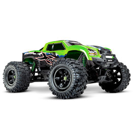 TRAXXAS TRA77086-4_GRNX  X-MAXX: BRUSHLESS ELECTRIC MONSTER TRUCK WITH TQI TRAXXAS LINK ENABLED 2.4GHZ RADIO SYSTEM & TRAXXAS STABILITY MANAGEMENT (TSM)