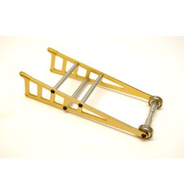 STRC SPTST3678WD ALUMINUM ADJUSTABLE WHEELIE BAR SLASH 2WD RUSTLER BANDIT GOLD