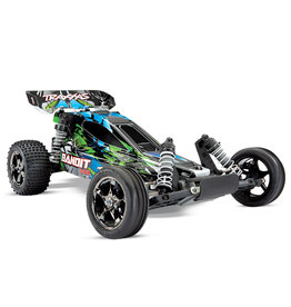 TRAXXAS TRA24076-4-GRN BANDIT VXL 2WD GREEN BUGGY RTR WITH TSM