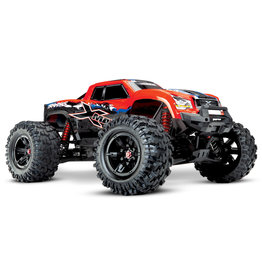 TRAXXAS TRA77086-4 RED  X-MAXX: BRUSHLESS ELECTRIC MONSTER TRUCK WITH TQI TRAXXAS LINK ENABLED 2.4GHZ RADIO SYSTEM & TRAXXAS STABILITY MANAGEMENT (TSM)