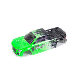 ARRMA ARA402305 GRANITE 4X4 BLX PAINTED DECALED TRIMMED BODY GREEN