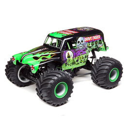 LOSI LOS04021T1 LMT 4WD SOLID AXLE MONSTER TRUCK RTR: GRAVE DIGGER