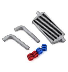 SIDEWAYS RC SDW-FULLINTKIT-S-S SCALE DRIFT FULL INTERCOOLER KIT (SILVER) (SMALL)