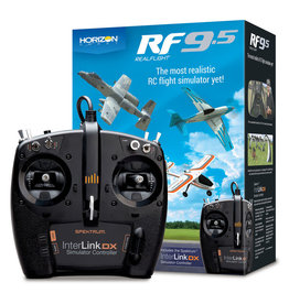 REALFLIGHT RFL1200 REALFLIGHT 9.5 R/C SIMULATOR W/ DX