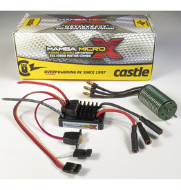 CASTLE CREATIONS CSE010014701 1/18 MAMBA MICRO X  ESC W/ 4100KV MOTOR