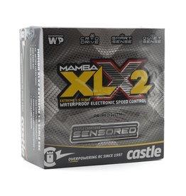 CASTLE CREATIONS CSE010016701 MAMBA XLX 2 1/5 SCALE ESC COMBO 2028 800KV MOTOR