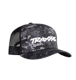 TRAXXAS TRA1182-CAMO TRAXXAS LOGO HAT CURVE BILL: CAMO