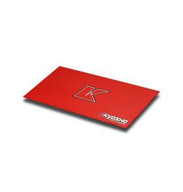 KYOSHO KYOKA30005R BIG K 2.0 RED PIT MAT 2' X 4