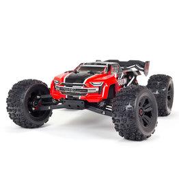 ARRMA ARA8608V5T1 KRATON 6S V5 4WD BLX RTR: RED