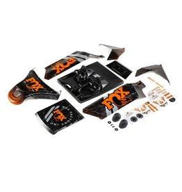 LOSI LOS250043 BODY SET SCREENED FOX DBXL-E 2.0