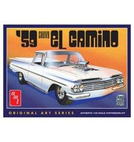 AMT AMT1058 1/25 1959 CHEVY EL CAMINO, ORIGINAL ART SERIES
