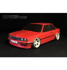 APLASTICS APS0002 1/10 BMW E30 COUPE CLEAR BODY
