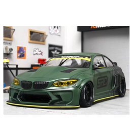 APLASTICS APS0011 1/10 BMW F22 M2 CLEAR BODY