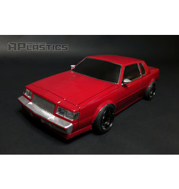 APLASTICS APS0013 1/10 BUICK GRAND NATIONAL CLEAR BODY