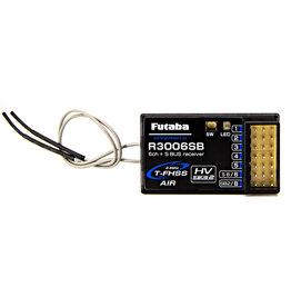 FUTABA FUT01102306-3 R3006SB T-FHSS S.BUS 6-CHANNEL 2.4GHZ RECEIVER