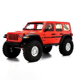 AXIAL AXI03003T2 SCX103 JEEP WRANGLER RUBICON JLU 1/10TH SCALE 4x4 RTR CRAWLER RED