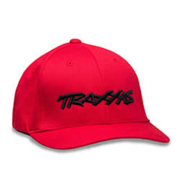 TRAXXAS TRA1188-RED-LXL TRAXXAS LOGO HAT RED LARGE/EXT