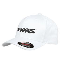 TRAXXAS TRA1188-WHT-LXL TRAXXAS LOGO HAT WHITE L/XL