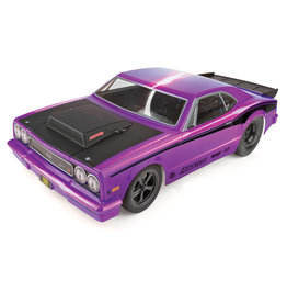 TEAM ASSOCIATED ASC70028 DR10 2WD BRUSHLESS RTR 1/10 SCALE DRAG RACE CAR: PURPLE