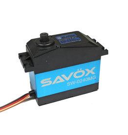 SAVOX SAVSW0240MG WATERPROOF 5TH SCALE DIGITAL SERVO .15/486 HIGH VOLTAGE