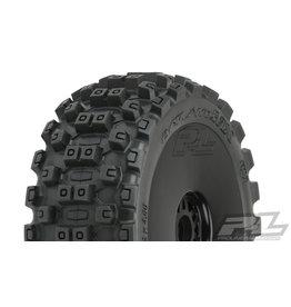 PROLINE RACING PRO906741 BADLANDS MX M2 1:8 BUGGY MTD BLACK WHEELS F/R