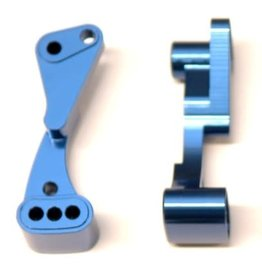 STRC SPTSTC71070B CNC MACHINED AUlM. WHEELIE BAR MOUNT FOR DR10 (BLUE)