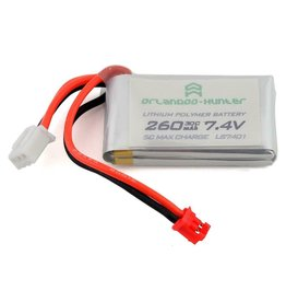 ORLANDOO HUNTERS OLHLS7401-B W/PH2.0 CONNECTOR (2S/260MAH) (USE W/D4L SYSTEM)