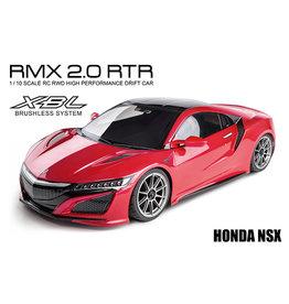 MST MXS-533701R MST RMX 2.0 1/10 2WD BRUSHLESS RTR DRIFT CAR W/HONDA NSX BODY (RED)