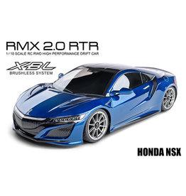 MST MXS-533701B MST RMX 2.0 1/10 2WD BRUSHLESS RTR DRIFT CAR W/HONDA NSX BODY (BLUE)