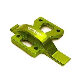 INTEGY INTC28680 GREEN BILLET ALLOY UPPER CENTER SPUR GEAR COVER FOR ARRMA 1/8 KRATON 6S BLX (AR310428):GREEN