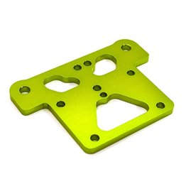 INTEGY INTC28670 GREEN BILLET ALLOY TOP PLATE FOR ARRMA 1/8 OUTCAST, KRATON & NOTORIOUS 6S BLX AR320195: GREEN