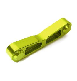 INTEGY INTC28725 GREEN BILLET MACHINED REAR-FORWARD SUSPENSION HANGER FOR 1/8 KRATON & OUTCAST 6S BLX: GREEN