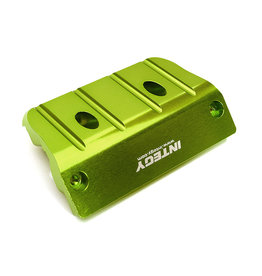 INTEGY INTC28978 GREEN BILLET MACHINED FRONT SKID PLATE FOR ARRMA 1/8 OUTCAST 6S BLX (AR320363): GREEN
