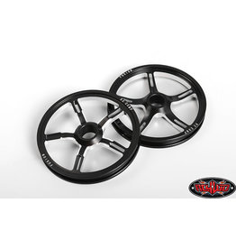 RC4WD RC4ZW0326 RC COMPONENTS FUSION DRAG RACE FRONT WHEELS