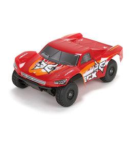 ECX ECX01001T2 TORMENT 1/18 4WD SHORT COURSE TRUCK: RED/ORANGE RTR