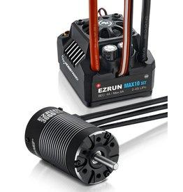 HOBBYWING HWI38010200 MAX10 SCT ESC COMBO WITH 3660 3200KV SENSORLESS