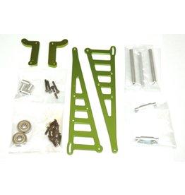 STRC SPTSTX71071G CNC ALUMINUM WHEELIE BAR DR10: GREEN
