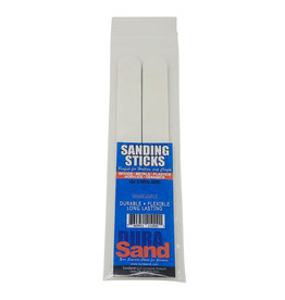 Durasand DSN21000 SANDING STICKS, 2 PIECES BAGGED, 80/80, WHITE